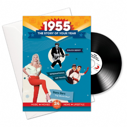 1950 to 1959  The Story of your Year CD/Booklet